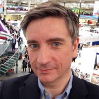 Jon Reed at London Book Fair